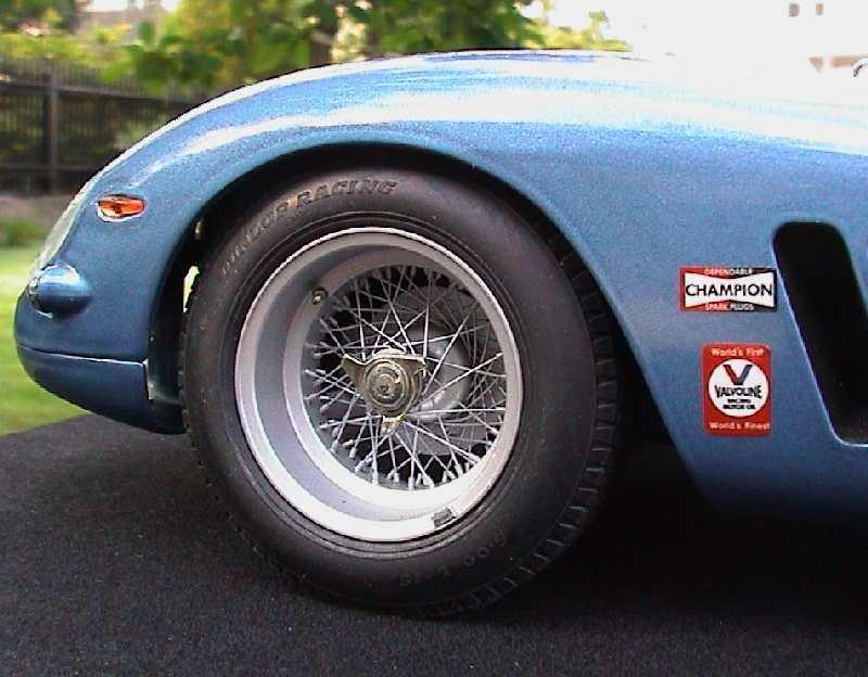 Car Detail Shop >> Autograph 1/12 Borrani wheel kit for Revell 250 GTO ...