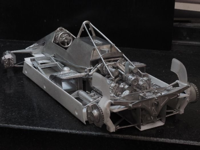 Superior Auto Parts >> Model Factory Hiro 1/12 car model kit K435 Ferrari 126C2 F1 (1982) ve