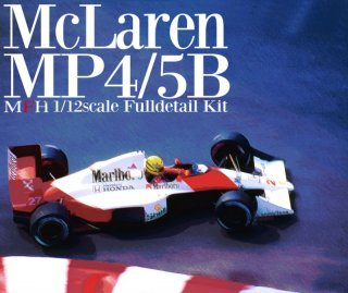 Model Factory Hiro 1/12 car model kit K455 McLaren 4/5B (version A) GP USA