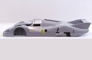 Model Factory Hiro 1/12 car model kit K500 Porsche 917 LH (1971) Version C #18