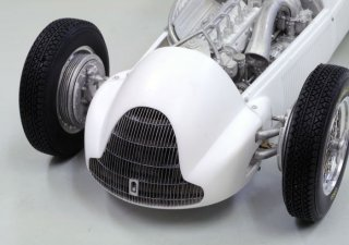 Model Factory Hiro 1/12 Automodellbausatz K519 Alfa Tipo158 (1950) Version A