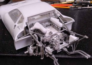 Model Factory Hiro 1/12 Automodellbausatz K531 Ferrari Berlinetta Boxer LM (1979/80) Version A