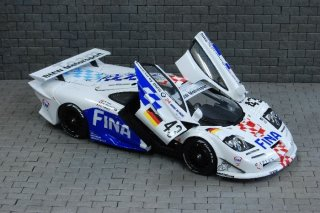Model Factory Hiro 1/24 car model kit K378 McLaren F1 GTR Long Tail Version C
