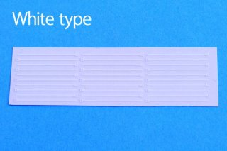 Model Factory Hiro P1086 Clamping band (1/12) - white type