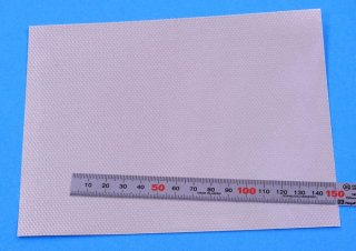 Model Factory Hiro P1090 Adhesive aluminium sheet (circular brushed metal texture) - small type