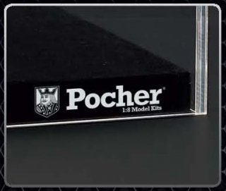 Pocher Showcase for car models scale 1/8