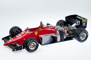 Model Factory Hiro 1/12 Automodellbausatz K593 Ferrari 156 (1985) Version (B)