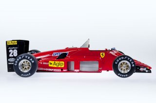 Model Factory Hiro 1/12 car model kit K594 Ferrari 156 (1985) Version (C) LIMITED EDITION