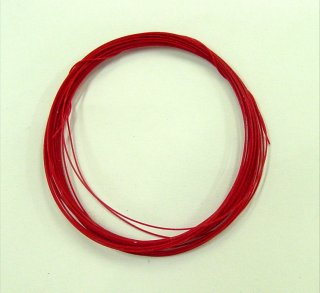 Model Factory Hiro P0933 piping cord 0,28 mm diameter - red 3 m