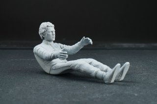 Dive Nine 1/12 figure kit 019 Steve McQueen - sitting