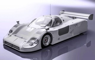 Model Factory Hiro 1/12 Automodellbausatz K596 Jaguar XJR-12 Le Mans (1991) Version B - LIMITIERT 100 KITS
