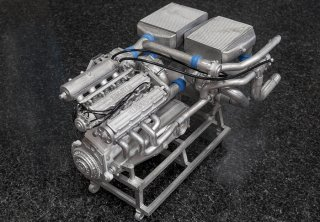 Model Factory Hiro 1/12 Engine Kit KE015 Lancia Delta S4