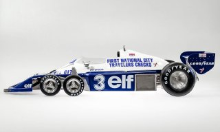 Model Factory Hiro 1/12 car model kit K600 Tyrrell P34 (1977) Version (B) with rain tires