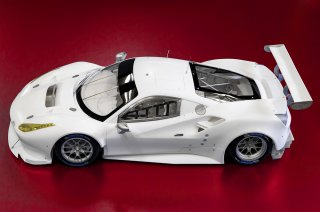 Model Factory Hiro 1/12 Automodellbausatz K618 Ferrari 488GTE (2017) Proportion Kit Vers. (B)