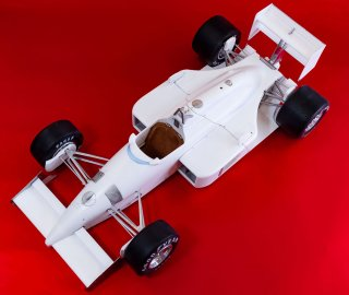 Model Factory Hiro 1/12 Automodellbausatz K627 Ferrari F187/88 (1988) Version (D)