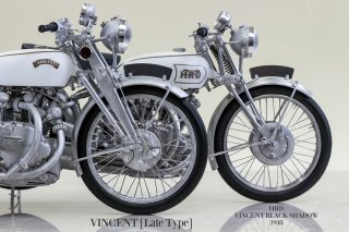 Model Factory Hiro 1/9 motorcycle kit K621 Vincent Black Shadow (1950)