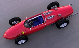 Model Factory Hiro 1/12 Automodellbausatz K643 Ferrari 156 Shark Nose (1961) Version B
