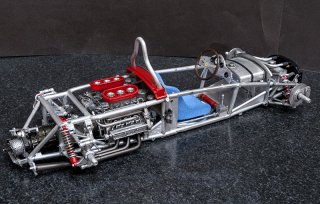 Model Factory Hiro 1/12 Automodellbausatz K642 Ferrari 156 Shark Nose (1961) Version A