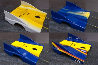 Model Factory Hiro 1/12 car model kit K649 Porsche 917/30 (197361)
