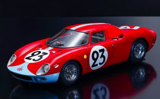 Model Factory Hiro 1/12 Automodellbausatz K656 Ferrari 250 LM (1965) Version D