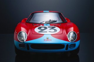 Model Factory Hiro 1/12 Automodellbausatz K655 Ferrari 250 LM (1965) Version C