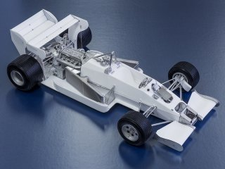 Model Factory Hiro 1/12 car model kit K651 Toleman Hart TG184 (1984) Version (B)