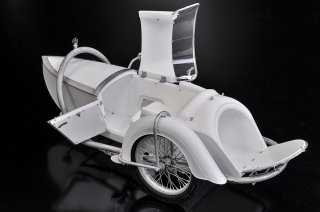 Model Factory Hiro 1/9 motorcycle kit K663 Side Car for Brough Superior SS100