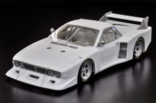Model Factory Hiro 1/12 Automodellbausatz K667 Lancia Beta Montecarlo Turbo (1979) Version A