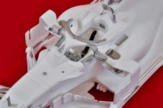 Model Factory Hiro 1/12 Automodellbausatz K671 Ferrari SF71H (2018) Proportion Kit Version B