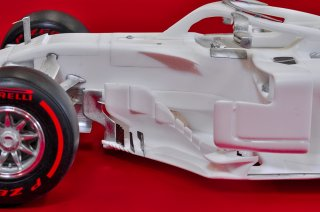Model Factory Hiro 1/12 car model kit K672 Ferrari SF71H (2018) Proportion Kit Version C