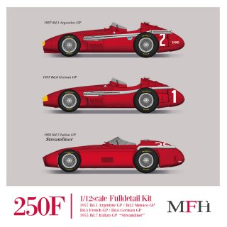 Model Factory Hiro 1/12 Automodellbausatz K675 Maserati 250F (1957) Version B