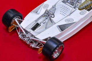 Model Factory Hiro 1/12 Automodellbausatz K685 Ferrari 312T2 (1977) Version A