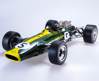 Model Factory Hiro 1/12 car model kit K690 Lotus 49 (1967/68) Version B
