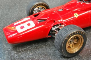 Model Factory Hiro 1/20 Automodellbausatz K153 Ferrari 312 F1 (1968) Version A