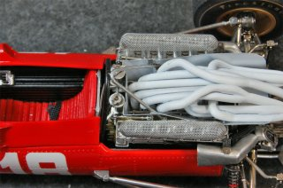 Model Factory Hiro 1/20 Automodellbausatz K156 Ferrari 312 F1 (1969) Version D