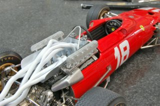 Model Factory Hiro 1/20 car model kit K157 Ferrari 312 F1 (1969) Version E