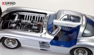 LeGrand 1/8 model kit LE102 Mercedes SLR Uhlenhaut Coupe