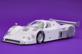 Model Factory Hiro 1/24 car model kit K684 Jaguar XJR-12 (1990) Version B