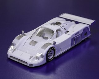 Model Factory Hiro 1/24 car model kit K631 Jaguar XJR-9 LM (1988) Version A