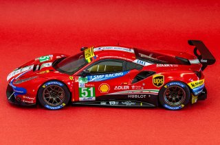 Model Factory Hiro 1/24 Automodellbausatz K682 Ferrari 488 GTE (2018) Version B