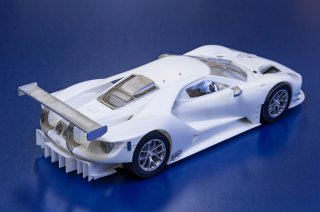 Model Factory Hiro 1/24 car model kit K633 Ford GT GTE (2017)