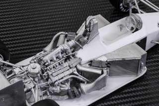 Model Factory Hiro 1/20 Automodellbausatz K698 McLaren MP4-4 (1988) Version B
