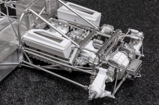 Model Factory Hiro 1/12 Automodellbausatz K710 Alfa Romeo 33 TT12 (1974) Version B