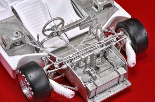 Model Factory Hiro 1/12 car model kit  K710 Alfa Romeo 33 TT12 (1974) Version B
