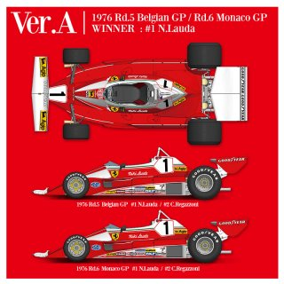 Model Factory Hiro 1/12 car model kit K704 Ferrari 312T2 (1976) Version A