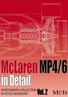 Photographic collection Model Factory Hiro: Vol. 2 McLaren MP4-6 in detail