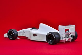 Model Factory Hiro 1/12 car model kit K718 McLaren MP4-7 1992 Version A