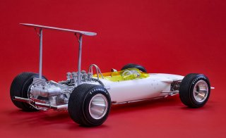 Model Factory Hiro 1/12 Automodellbausatz K722 Lotus 49B (1968) Version A