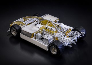 Model Factory Hiro 1/12 Automodellbausatz K728 Porsche 908/3 Version D
