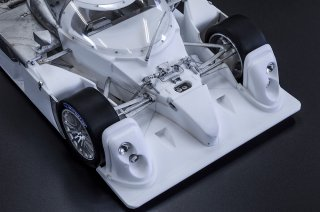 Model Factory Hiro 1/12 car model kit K739 Bentley Speed 8 Le Mans (2003)